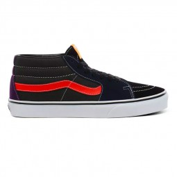 Chaussures Vans SK8 Mid vert, noir violet