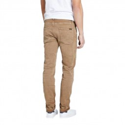 Jeans Teddy Smith Reeple marron clair