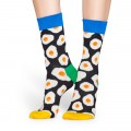 Chaussettes Happy Socks Sunny Side Up noires