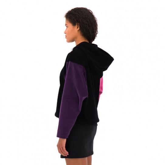 Sweat à capuche 1/2 zippé Champion en velours