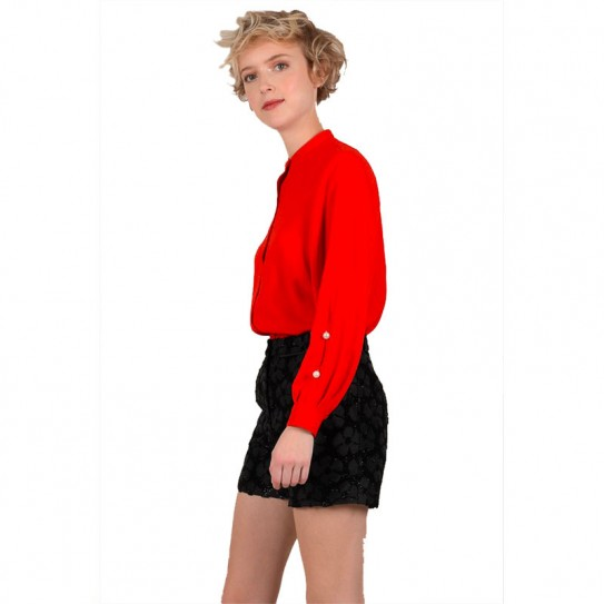 Top longues col montant Molly Bracken