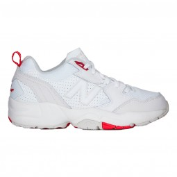 Chaussures New Balance WX708 blanches et rouges