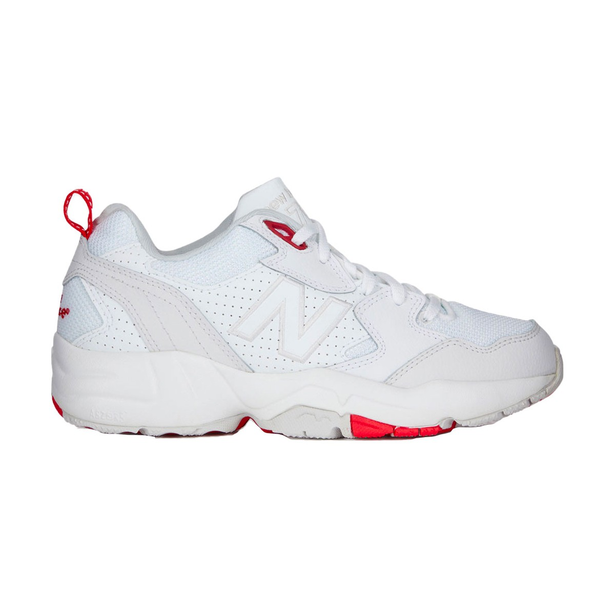 Baskets New Balance WX708 blanches & rouges pour femme   Fred Aston