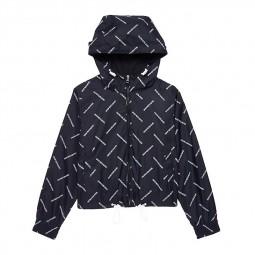 Veste coupe-vent Calvin Klein nior imprimé logo