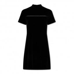 Robe en velours Calvin Klein noire