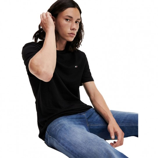 T-shirt Tommy Jeans manches courtes