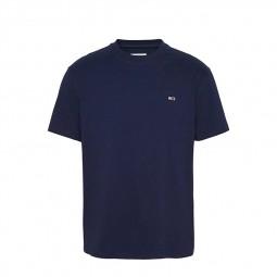 T-shirt Tommy Jeans manches courtes bleu marine
