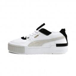 Chaussures Puma Cali Sport Mix blanc noir