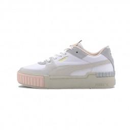 Chaussures Puma Cali Sport Mix blanc rose