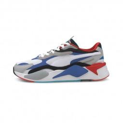 Chaussures Puma RS-X3 Puzzle blanc bleu