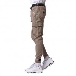 Treillis pantalon cargo Project X Paris beige
