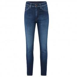 Pantalon Salsa Elegant Skinny bleu délavé