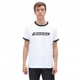 T-shirt Dickies Bakerton blanc