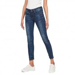 Jeans G-Star Arc 3D Skinny bleu foncé délavé