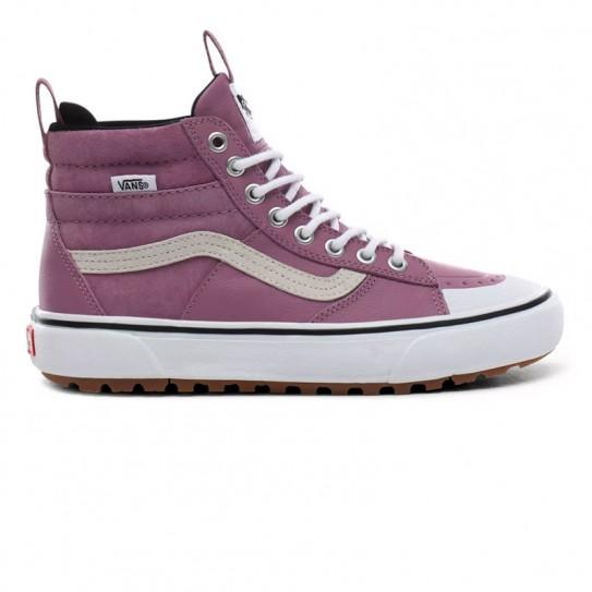 chaussures vans montantes en cuir