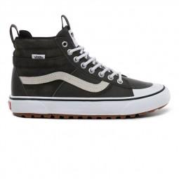 Chaussures Vans SK8 Hi MTE 2.0 cuir vert foncé
