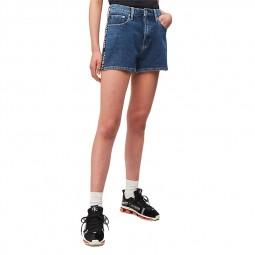 Short en jean Calvin Klein bleu