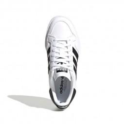 Adidas Team Court J noir et blanc