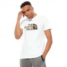 T-shirt The North Face S/S Easy Tee blanc