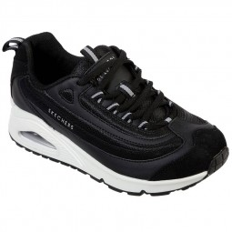 Chaussures Skechers femme Uno Roundabout noires
