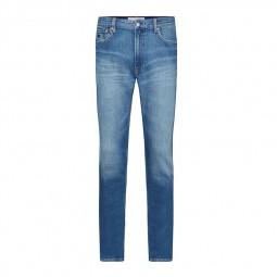 Jeans slim homme Calvin Klein Ck026 bleu clair délavé