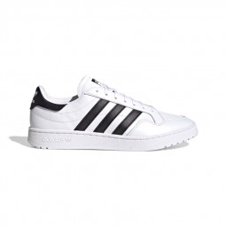 Adidas Team Court blanc noir