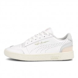 Chaussures Puma Ralph Sampson blanc rose