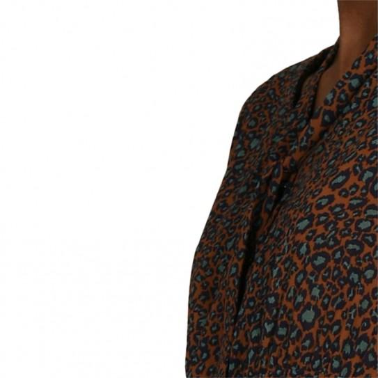 Robe longue Molly Bracken léopard