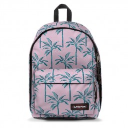 Sac à Dos Eastpak Out of Office brize trees rose palmiers