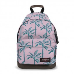 Sac à Dos Eastpak Wyoming Brize Trees rose palmiers verts