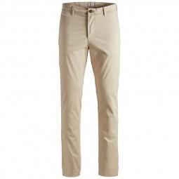 Pantalon en toile Jack & Jones beige