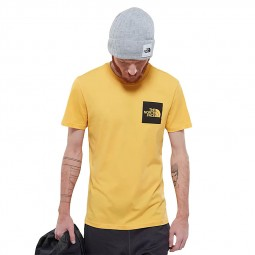 T-shirt The North Face S/S Fine Tee jaune