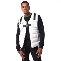 Gilet sans manches Project X Paris blanc