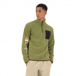 Polaire Champion manches longues vert olive