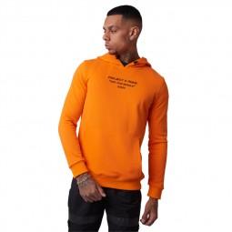 Sweat à capuche Project X Paris orange