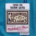 Charlotte Hornets 1999-00 Baron Davis bleu clair