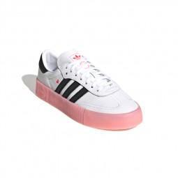 Adidas Stan Smith Sambarose blanc, noir, rose