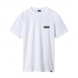 T-shirt Napapijri Sase blanc