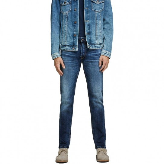 Jeans Jack & Jones Mike bleu délavé