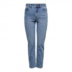 Jeans Only taille haute bleu clair