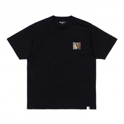 T-shirt Carhartt Backpages noir