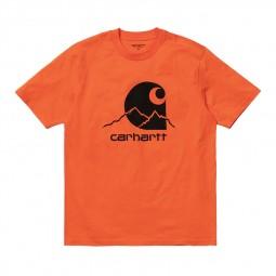 T-shirt Carhartt Outdoor orange