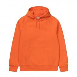 Sweat à capuche Carhartt Hooded Chase orange