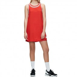 Robe trapèze Calvin Klein rouge