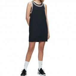 Robe trapèze Calvin Klein noire