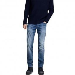 Jeans Jack & Jones Glenn Icon bleu clair délavé