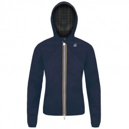 Coupe vent KWAY Lil Plus Dot bleu marine