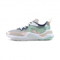 Chaussures Pume Rise blanc, bleu, vert