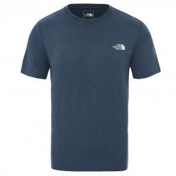 T-shirt The North Face Reaxion Amp bleu chiné