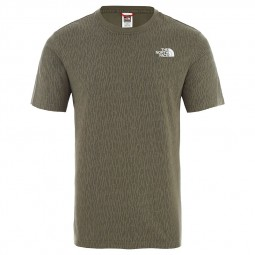 T-shirt manches raglan The North Face kaki